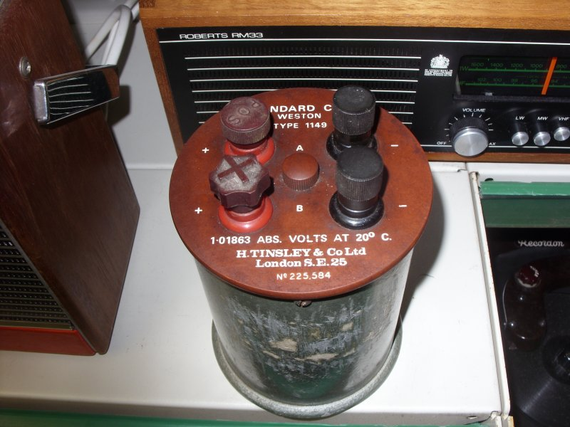 Standard Cell Weston Type 1149 Vintage H.Tinsley /& Co