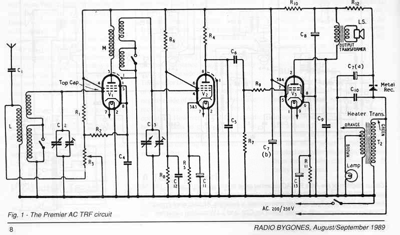 Radio ID please. No markings, possibly a kit set. - Page 2 ... on crystal radio schematic, transistor radio schematic, am radio circuit schematic,